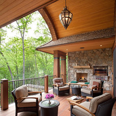 traditional porch by Tyner Construction Co Inc