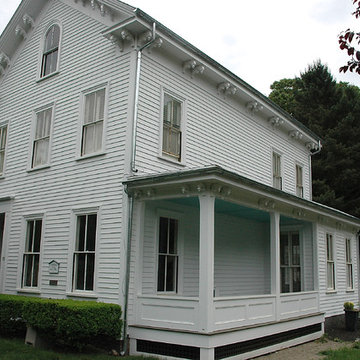 Classic Victorian Exterior Refresh - Finished Porch Refresh