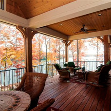 Traditional Porch by Resort Custom Homes