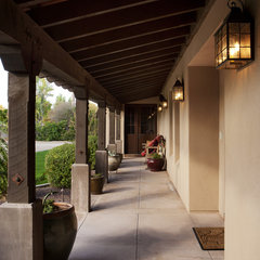 mediterranean porch by Modern Group