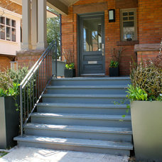 Traditional Porch by Blooming Planter
