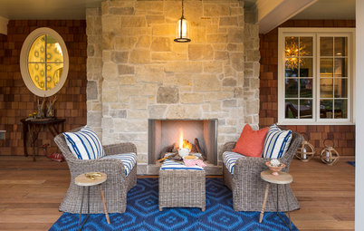 Room of the Day: S'mores, a Swing and Fireside Chats on a Front Porch