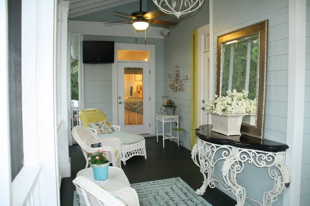 Eclectic Porch by Cowan Incorporated
