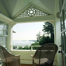 Traditional Porch by Charles R Myer & Partners, Ltd