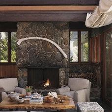 Beach Style Porch by Random House