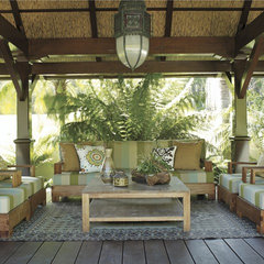 tropical porch by Random House