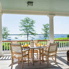 Beach Style Porch by Ronald F. DiMauro Architects, Inc.
