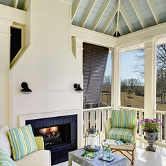 traditional porch by Structures Building Company