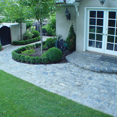 Traditional Porch by Monarch Stone International