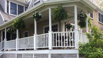 Cohasset- Back Porch Railing Replacement.