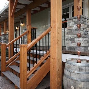 Immagine di un portico american style