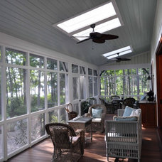 Traditional Sunroom by Frederick + Frederick Architects