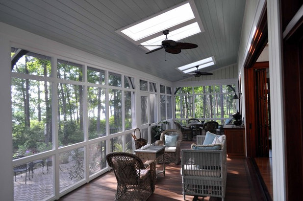 Architectural Deck Screening : Cool off this summer on a screened in porch