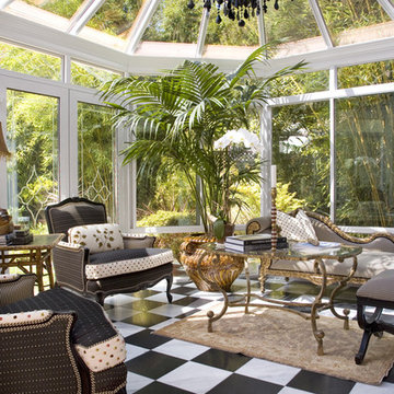 Colonel Mustard in the Conservatory