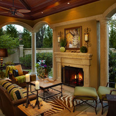 Traditional Porch by Evon Kirkland Interiors
