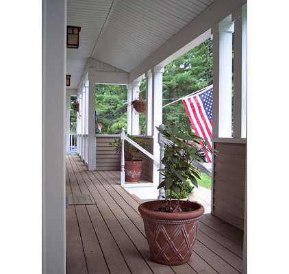 Traditional Porch by Colvin Design