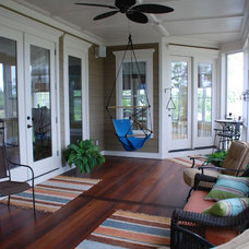 Traditional Porch by Priester's Custom Contracting, LLC