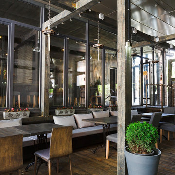 Commercial Modern + Industry Restaurant- Los Angeles