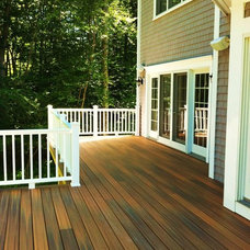 Traditional Porch by New England Traditions