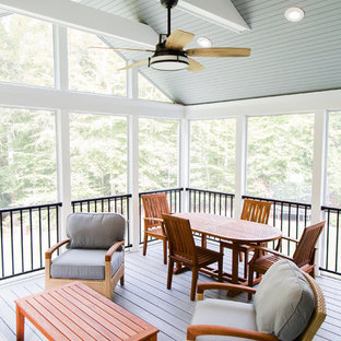Composite Deck, Screened Porch, Underdeck Drainage and Patio