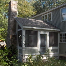 Traditional Porch by Mahoney Architects