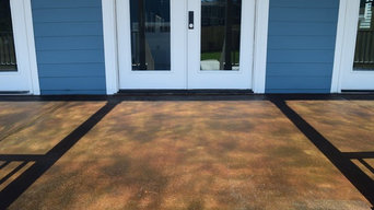 Concrete Porch Stain and Seal