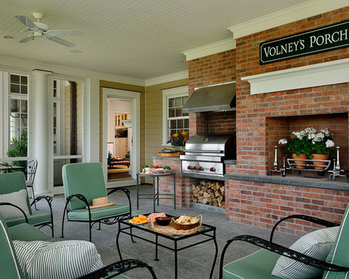 Grilling Porch Home Design Ideas Pictures Remodel And Decor