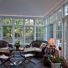 Traditional Porch by Carosella Design Build, Ltd.