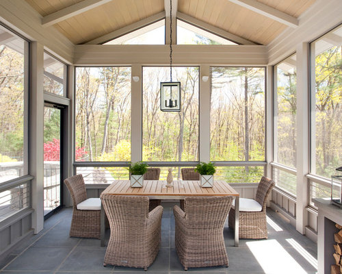 our 11 best screened in porch ideas remodeling photos houzz - Screened Patio Ideas