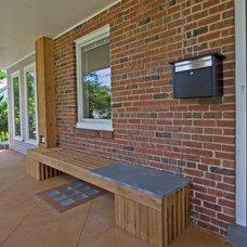 Contemporary Porch by Braitman Design Studio