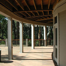 Contemporary Porch by Christopher A Rose AIA, ASID