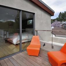 Contemporary Porch by Ana Williamson Architect