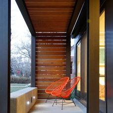Contemporary Porch by bldg.collective