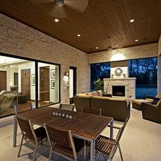 Contemporary Porch by Bulhon Design Associates