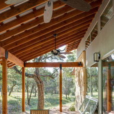 Contemporary Porch by Craig McMahon Architects, Inc.