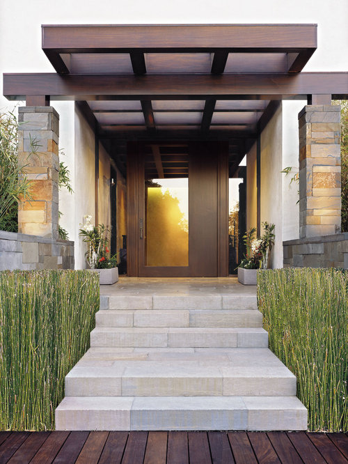 Front Entry Rambler Pergola Home Design Ideas Pictures