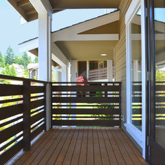 contemporary porch by Paul Michael Davis Design