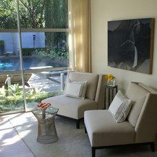 Contemporary Porch by SLIC Interiors