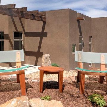 Contemporary Pueblo in Santa Fe