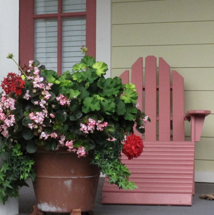 Tropical Porch by Suzanne MacCrone Rogers