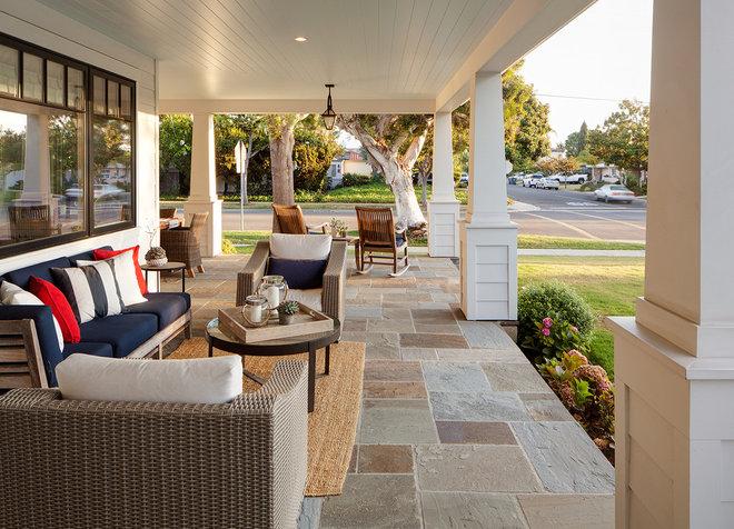 Farmhouse Porch by Christian Rice Architects, Inc.