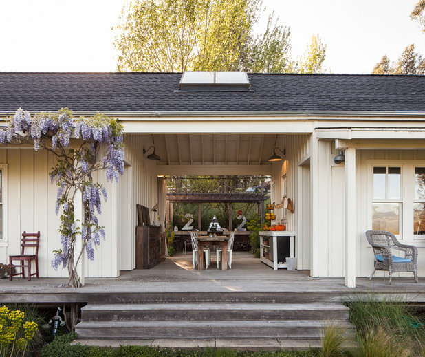 Luxury Farmhouse Porch by Mike Connell