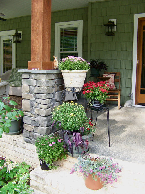 Stone Pillars And Columns : Stone and wood columns ideas pictures remodel decor