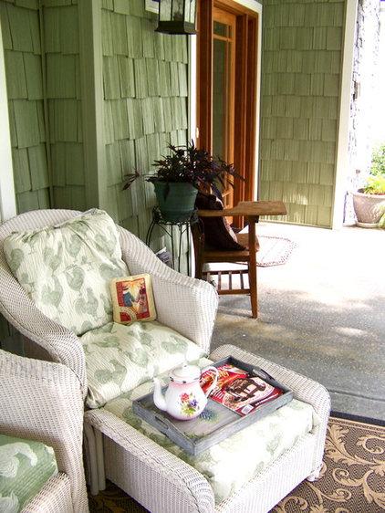 Eclectic Porch Cottage Gardens