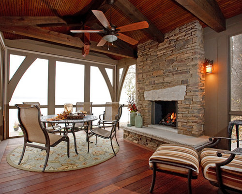 Three Season Country Porch Home Design Ideas Pictures Remodel And Decor