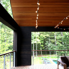 Contemporary Porch by Actual Size Projects