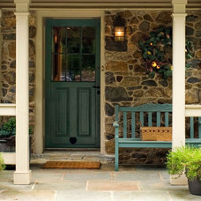 Traditional Porch by Orion General Contractors