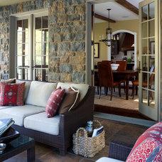 Rustic Porch by Sharon M. Gatt, ASID, NCIDQ