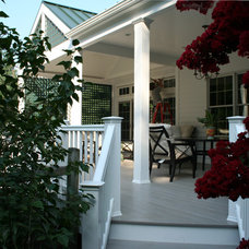 Traditional Porch by John Gehri Zerrer