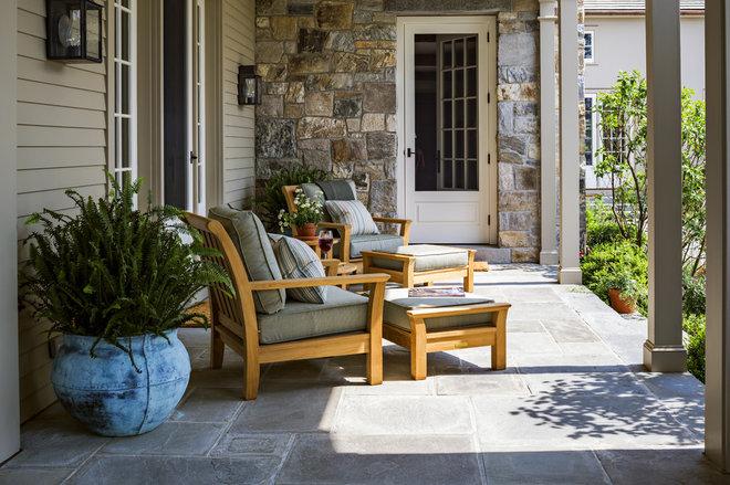 Traditional Porch by Haver & Skolnick LLC Architects